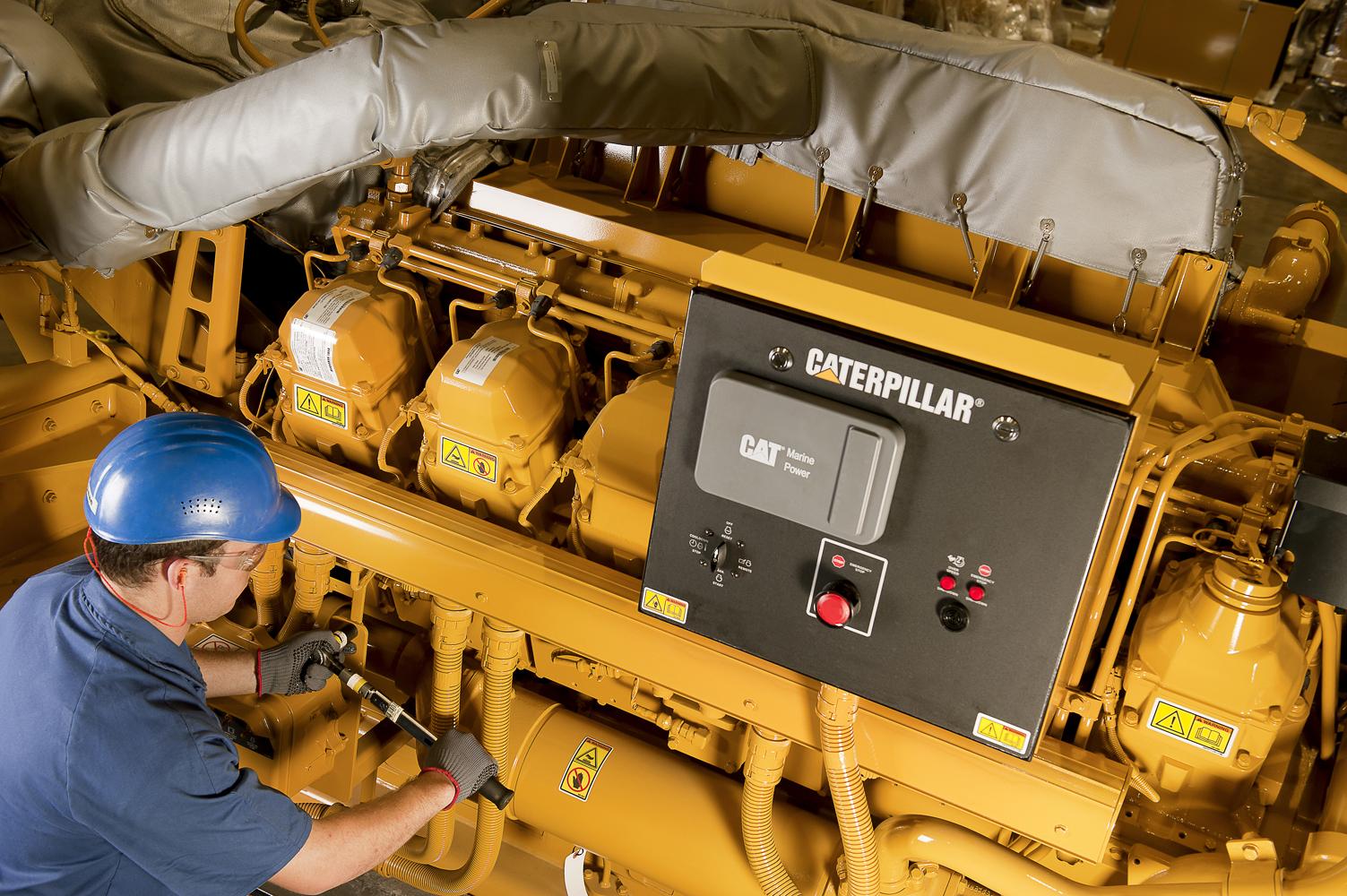 db1093eeb16 Caterpillar fornece o centésimo grupo gerador offshore